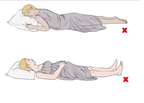 Как спать при беременности: на спине или на боку? - T