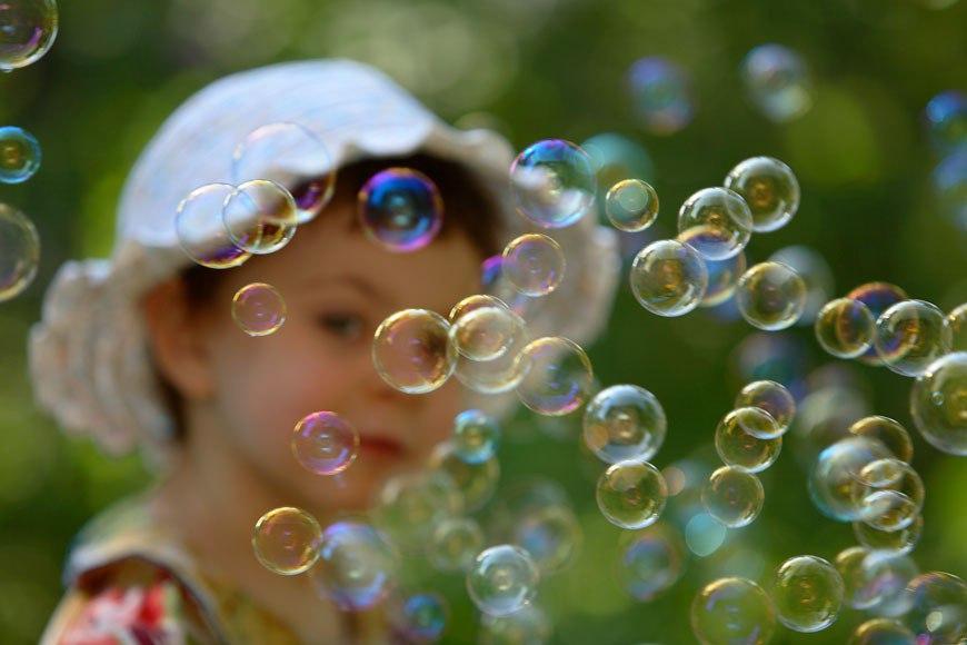 Из чего лучше делать мыльные пузыри