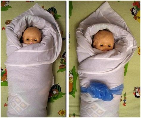 Завернутые в одеяло младенцы рискуют погибнуть Правила безопасного пеленания ребенка